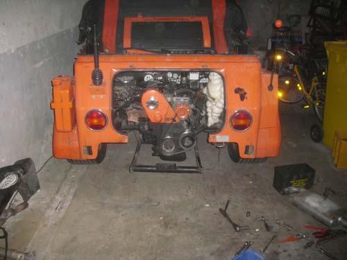 Schraubbares Heckblech VW Kübel