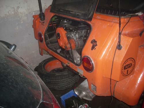 Passatmotor im VW Kübel