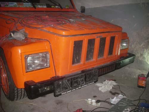 Front VW Kübel geändert
