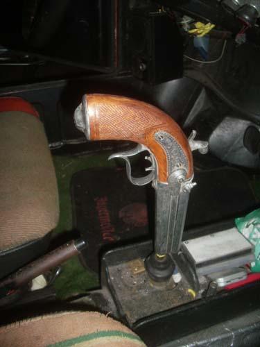 Schaltknauf Pistole