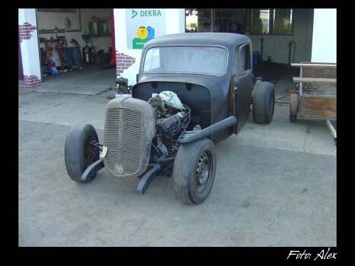 Framo Hotrod mit Oldsmobile V8