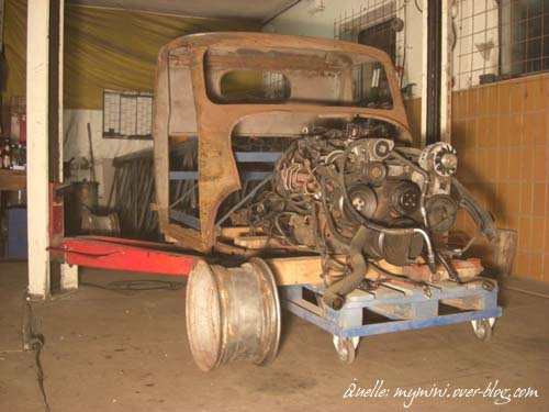 Framo Hotrod Hot Rod Amigo Rat Rod