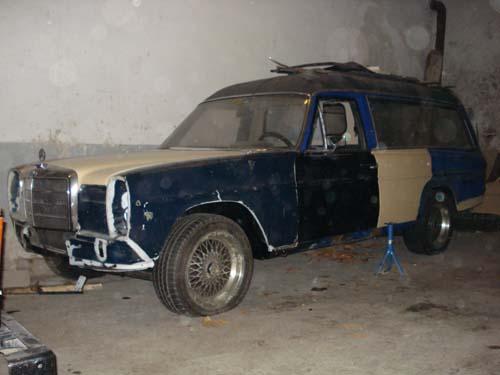 Mercedes Benz /8 Leichenwagen Rappold