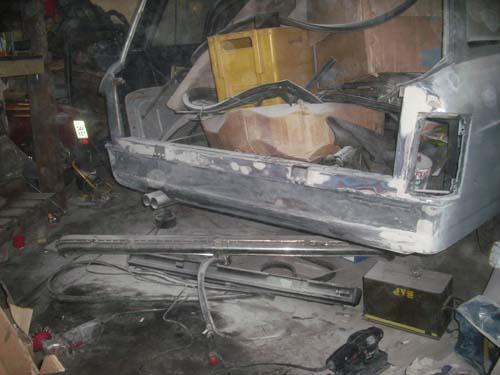 Heckblech Mercedes Strichacht Rappold