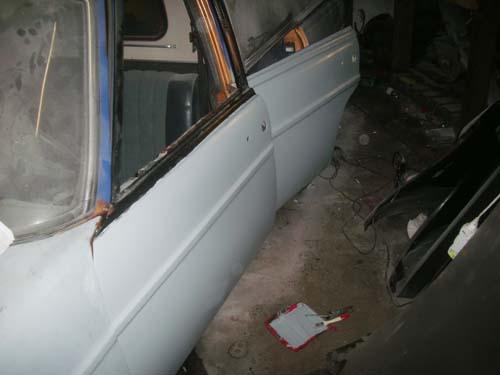 Grundierte Türen Mercedes /8