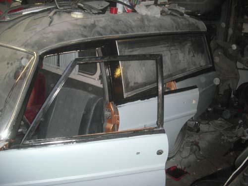 Mercedes W114 w115 Rappold Bestatter