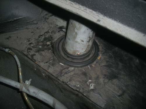 Tankrohr Mercedes W114 w115 Rappold