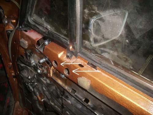 Türinnenseite Mercedes /8