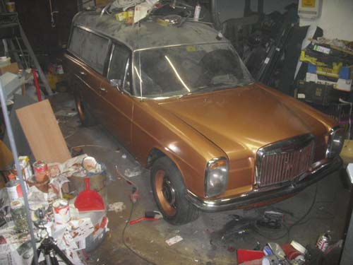 Mercedes Benz Leichenwagen /8 Rappold