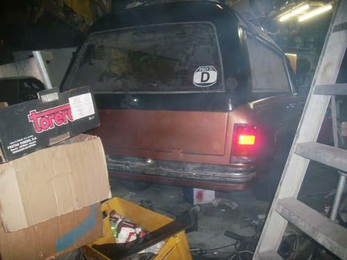 Heckstoßstange Mercedes Benz W114 W115 Leichenwagen
