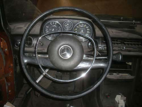 Mercedes Lenkrad /8 1. Serie