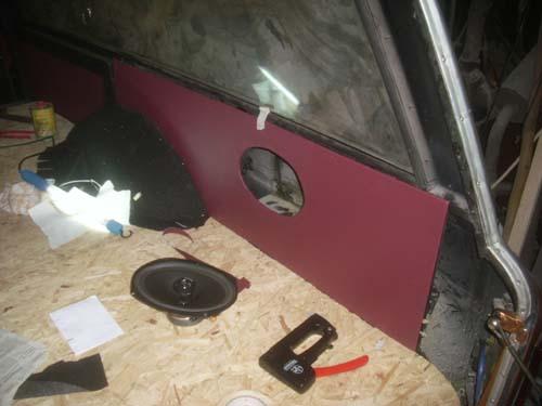 Innenverkleidung Sargraum Rappold Leichenwagen