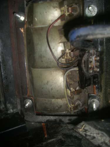Rückleuchte Mercedes /8 Leichenwagen