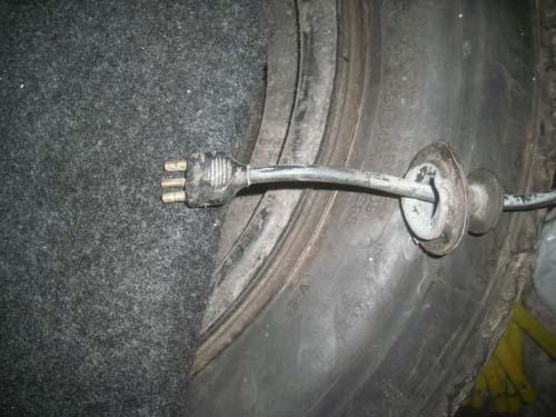 Stecker Kennzeichenbeleuchtung Mercedes /8