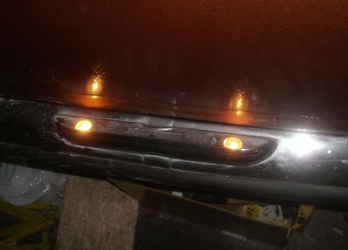 Kennzeichenbeleuchtung Mercedes /8 W114 W115