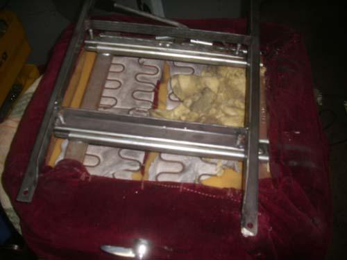 Sitzunterkonstruktion