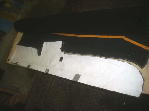 Schablone Teppich Mercedes /8 W114 W115