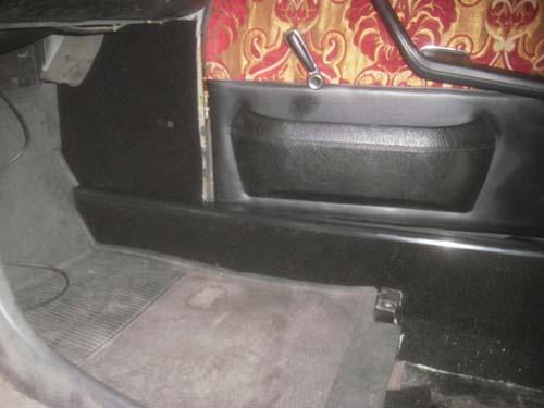 Schwellerteppich Mercedes /8 W114 W115