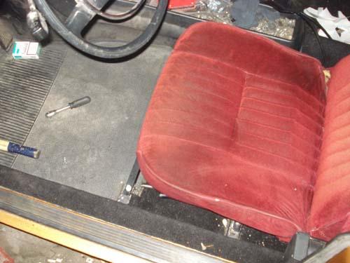 Sitzeinbau Mercedes /8