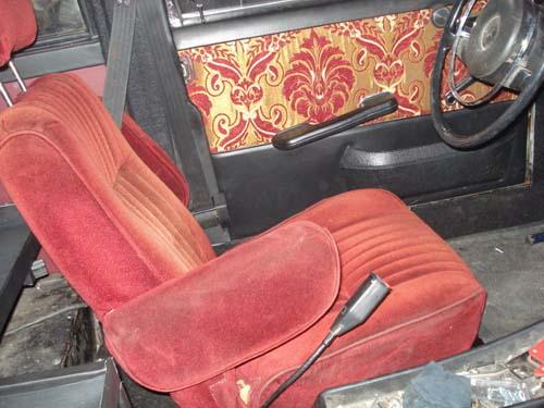 Velourssitze Mercedes Benz /8