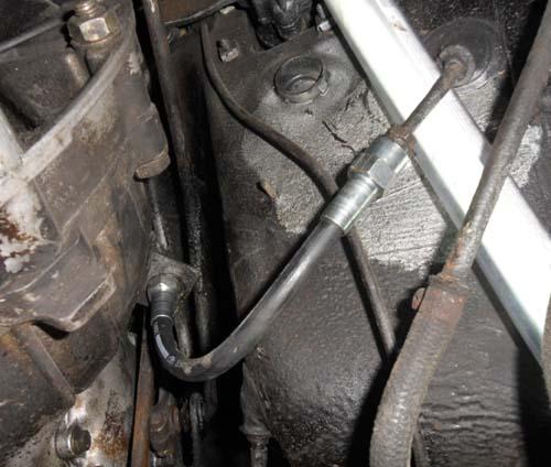 Schlauch hydraulische Kupplung Mercedes Benz W114