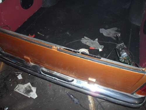 Dichtung Heckklappe Mercedes Benz W114 /8 Rappold Leichenwagen