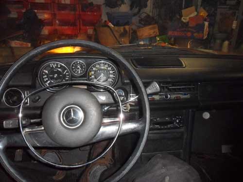 Armaturenbrett Mercedes Benz W114 /8
