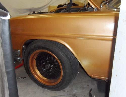 Tieferlegung Mercedes /8 W114