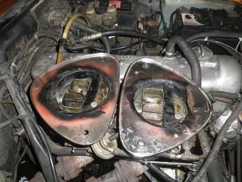 Sportluftfilter Mercedes W114 230.6