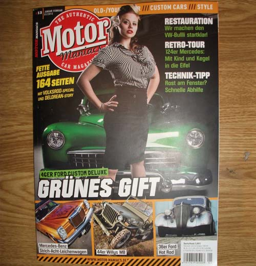 Motor Maniacs Heft 13
