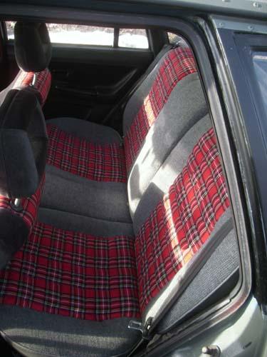 Rücksitzbank Passat 32B Trend