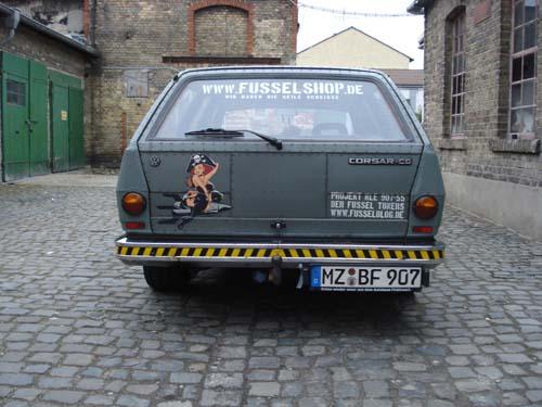 VW Passat 32B Fusseltuning