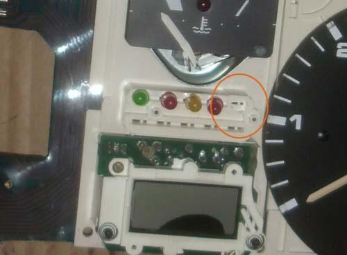 Kontrollleuchten Tacho VW Passat 32B