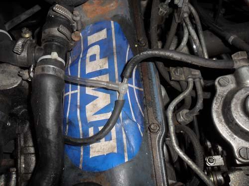 Anschluß Ladedruckanzeige Turbodiesel