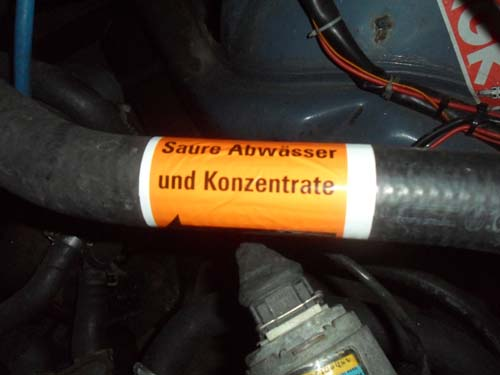 S&auml;ure Abw&auml;sser und Konzentrate