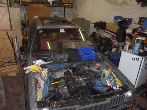 Turbodiesel Motor