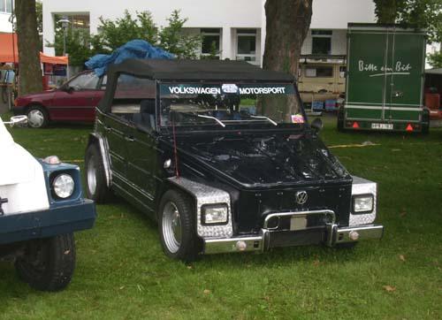 VW Kübel 181 Eigenbaukotflügel