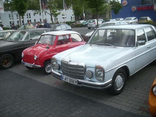 Goggomobil, Mercedes /8