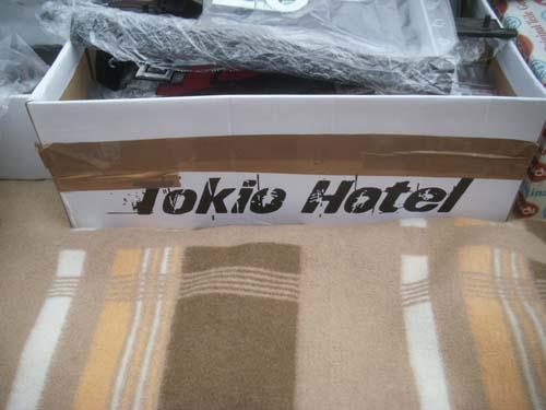Tokio Hotel Schuhkarton