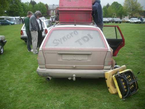 VW Passat 32B TDI Syncro