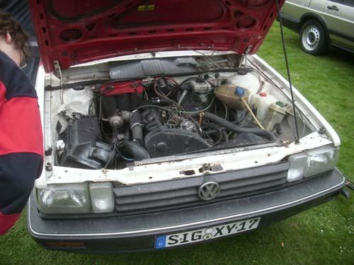 TDI Motor im Passat 32B Syncro