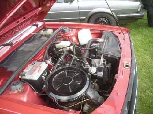 Motorraum Passat 32 GLS