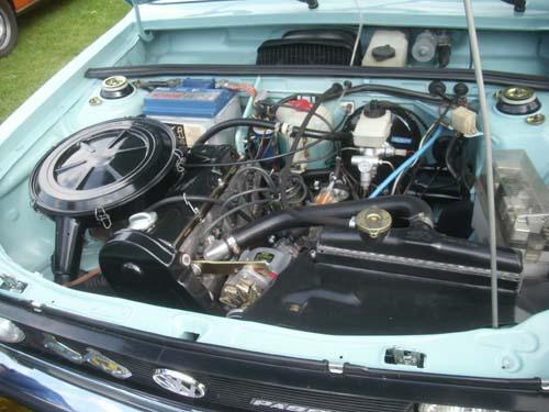 Motorraum Passat 32 33 TS