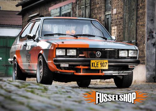 Postkarte VW Passat 32 5ender