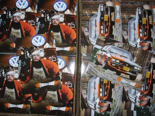 Postkarten Fusselshop Fusseltuning