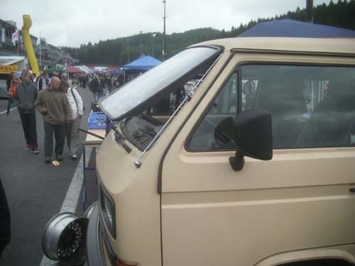 Safari Fenster VW Bus T3