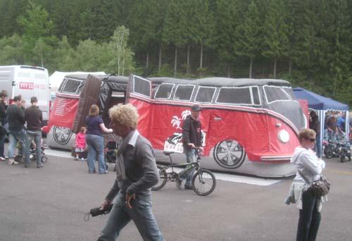 VW Bus T1 Hüpfburg BBT