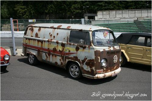 VW Bus T2a Ratte