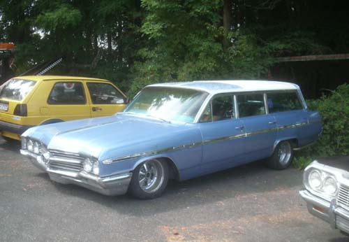 64er Buick Le Sabre Station Wagon 4Door 2 Seater
