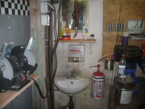 Werkstattwaschbecken